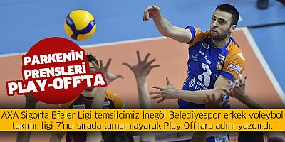 Parkenin prensleri Play Off'ta